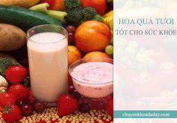 Ăn nhiều hoa quả tươi cũng có thể ngăn ngừa bệnh viêm loét dạ dày
