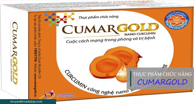 Thực phẩm chức năng Cumargold hỗ trợ điều trị viêm loét dạ dày