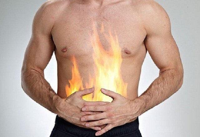 Triệu chứng nóng rát vùng thượng vị