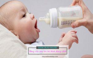 Giảm trào ngược dạ dày cho trẻ