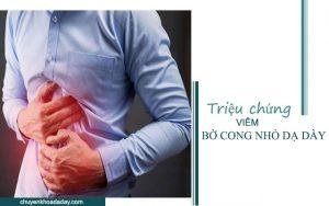 Đau bụng - Triệu chứng viêm bờ cong nhỏ dạ dày
