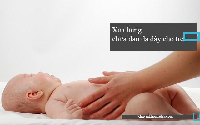 chữa đau dạ dày cho trẻ