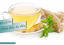 Uống trà gừng vào mỗi sáng có tác dụng làm triệu chứng đau dạ dày