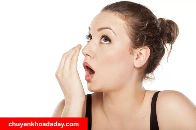 Hội miệng dấu hiệu nhiễm vi khuẩn Hp