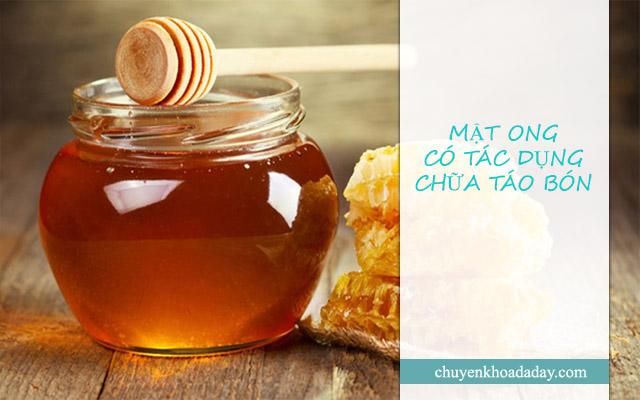 Dùng mật ong chữa táo bón mang lại hiệu quả tốt