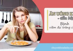 Chán ăn, ăn uống kém là biểu hiện bệnh viêm đại tràng co thắt