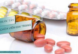 Sử dụng thuốc tây chữa viêm đại tràng mang lại hiệu quả nhanh chóng