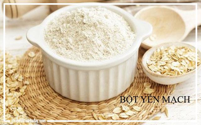 Dùng bột yến mạch làm giảm triệu chứng trào ngược dạ dày