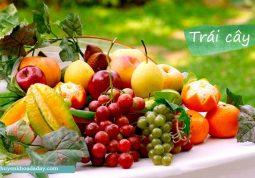 Ăn nhiều trái cây tươi có tác dụng rát tốt trong việc phòng ngừa bệnh
