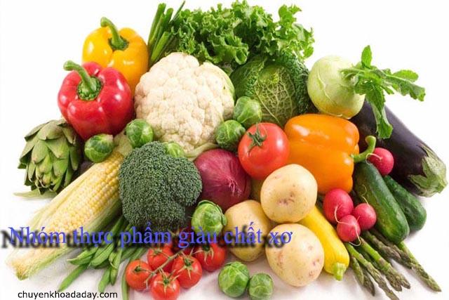 Nhóm thực phẩm giàu chất xơ tốt cho người phẫu thuật ruột thừa