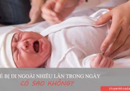 Trẻ bị tiêu chảy nhiều lần gây ảnh hưởng không tốt tới sức khỏe của bé