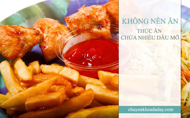 Những món ăn chứa nhiều dầu mỡ rất có hại cho sức khỏe