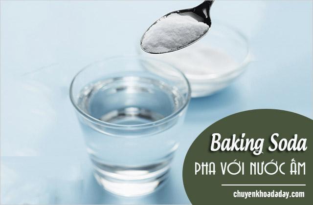 chữa đau dạ dày bằng baking soda