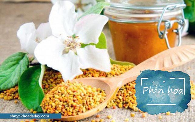 Công dụng chữa đau dạ dày từ phấn hoa