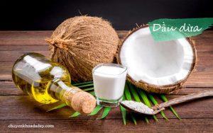 Có thể dùng dầu dừa chữa bệnh đau dạ dày