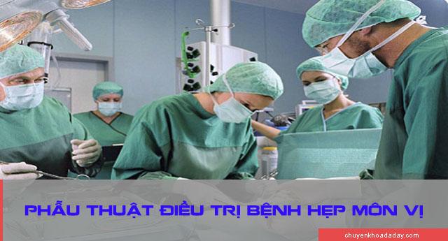 Điều trị hẹp môn vị bằng phẫu thuật