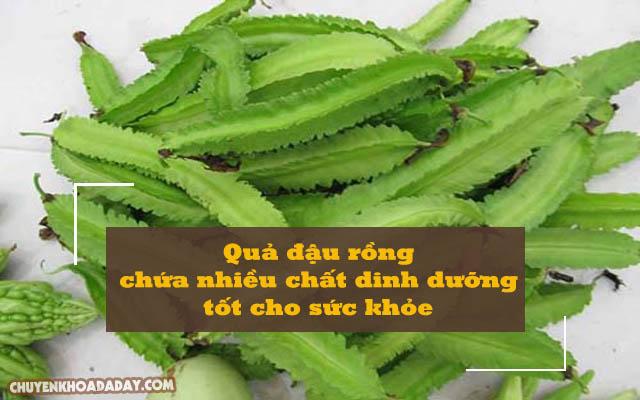 Quả đậu rồng chứa nhiều chất dinh dưỡng tốt cho sức khỏe
