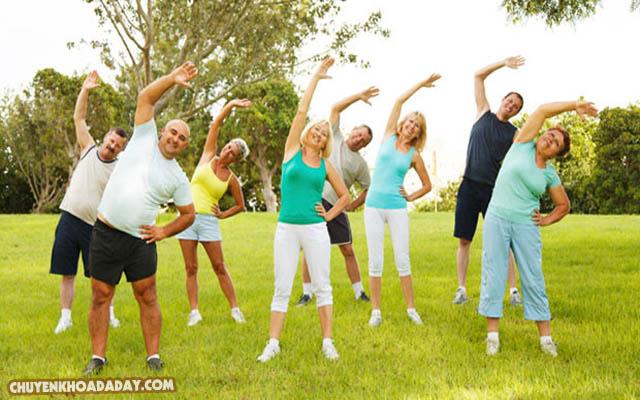 Thường xuyên tập thể dục để tăng cường sức đề kháng cho cơ thể