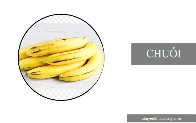 chuối giảm đau dạ dày