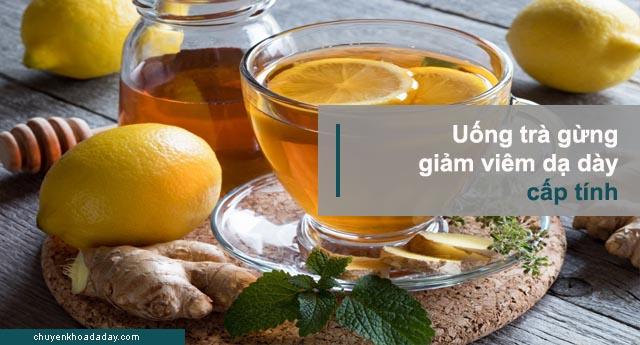 giảm đau khi viêm dạ dày cấp tính