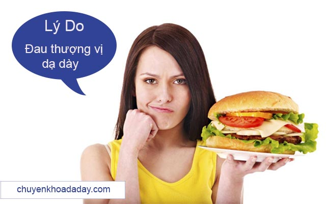 Nguyên nhân đau thượng vị dạ dày