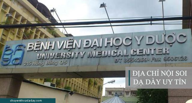 Bệnh viện Đại học Y dược - Địa chỉ nội soi dạ dày uy tín