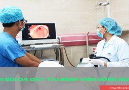Nội soi dạ dày tại bệnh viện Đa khoa Quốc tế Hồng Ngọc
