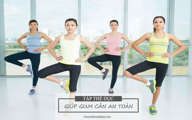 Tập thể dục thể thao có tác dụng giảm cân, tăng cường sức khỏe tốt cho người bị đau dạ dày