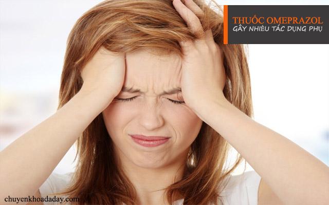 Omeprazol gây ra nhiều tác dụng phụ