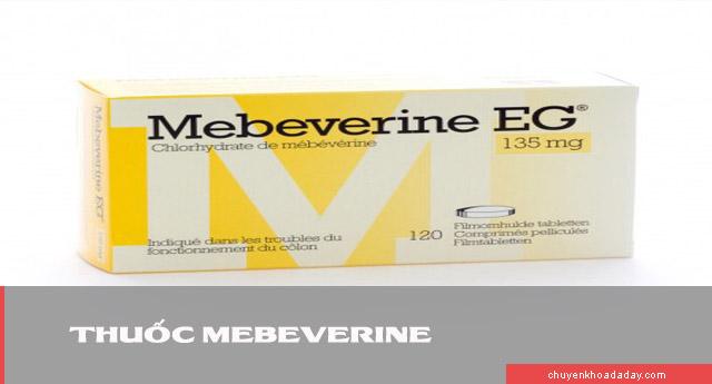 Thuốc Mebeverine dùng để chữa co thắt dạ dày