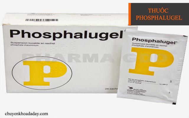 Thuốc Phosphalugel chữa đau dạ dày