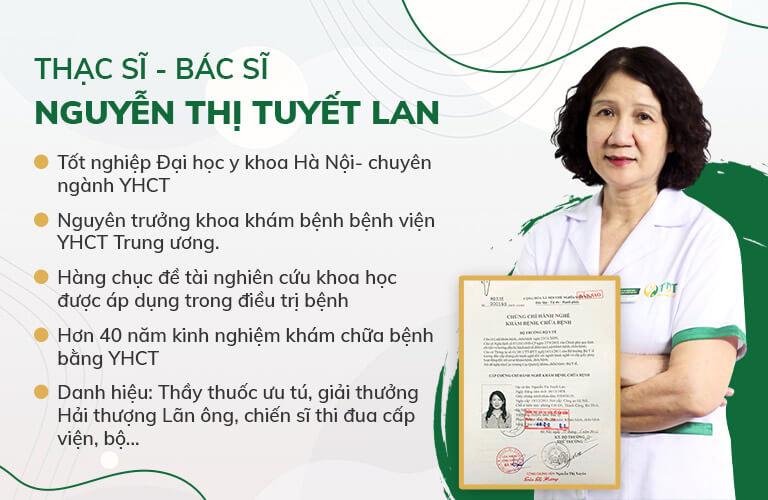 Ths.Bs Tuyết Lan - Chuyên gia hàng đầu trong chữa viêm dạ dày bằng Đông y tại Thuốc dân tộc