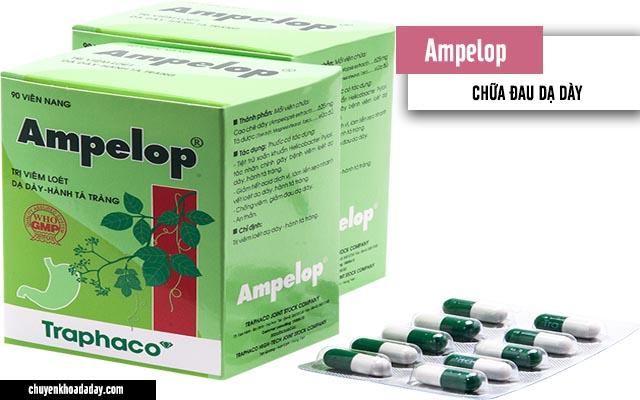 Thuốc Ampelop chữa đau dạ dày