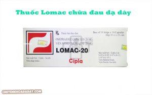 Thuốc Lomac dùng để chữa đau dạ dày