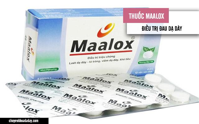 Thuốc Maalox chữa đau dạ dày