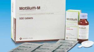 Motilium: Thuốc chống trào ngược, đầy bụng buồn nôn