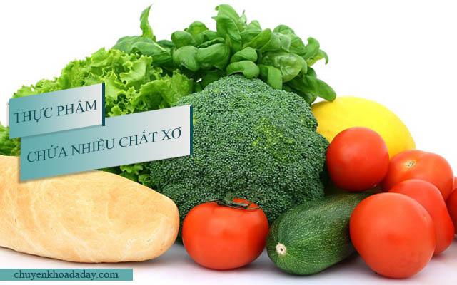 Khi bị viêm đại tràng nên ăn thực phẩm chứa nhiều chất xơ
