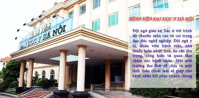 Khám bệnh trào ngược dạ dày tại Bệnh viện Đại học Y Hà Nội