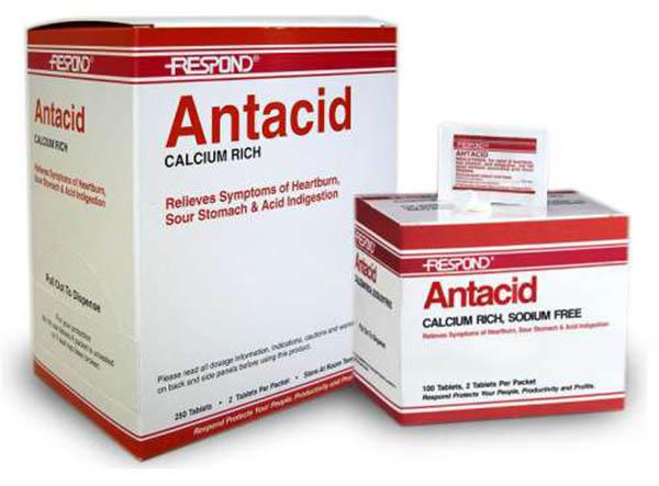 Nhóm thuốc Antacid giúp trung hòa acid trong dạ dày