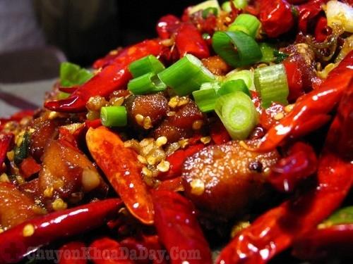 Ăn nhiều món ăn cay gây đau dạ dày