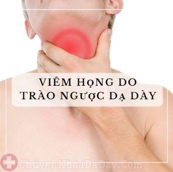 Ho, ù tai, khó chịu ở họng do trào ngược dạ dày?-1
