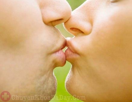 Hôn môi có làm lây vi khuẩn Hp dạ dày không?-1