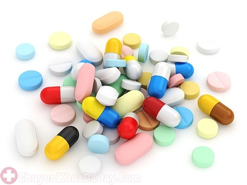 Thuốc Tây điều trị vi khuẩn Hp