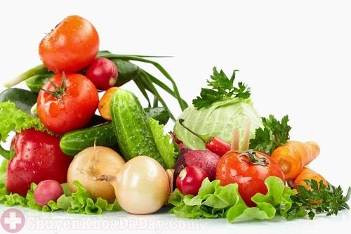 Người bệnh đau dạ dày nên bổ sung đầy đủ chất dinh dưỡng