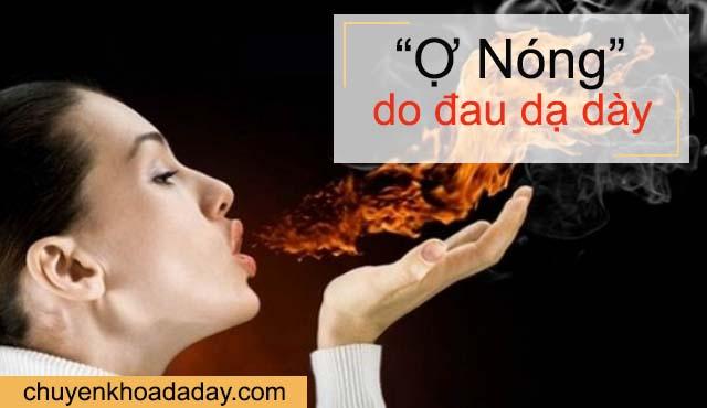 Ợ nóng triệu chứng đau dạ dày