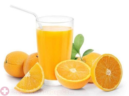 Khi bị đau dạ dày có thể uống nước cam