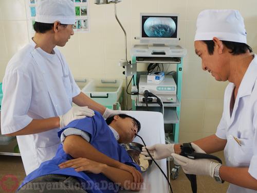 Nội soi dạ dày ở khoa tiêu hóa bệnh viện Đại học Y Hà Nội