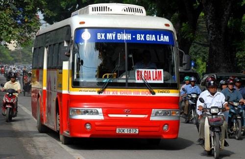 xe bus đến bệnh viện bạch mai