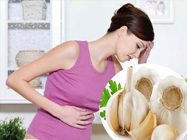 Chữa đau dạ dày bằng tỏi