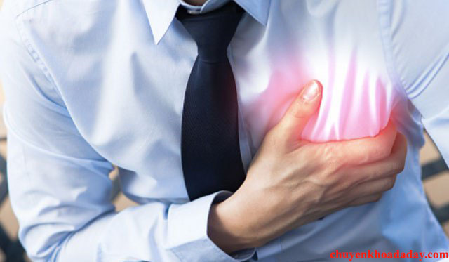 Đau tức ngực triệu chứng trào ngược dạ dày